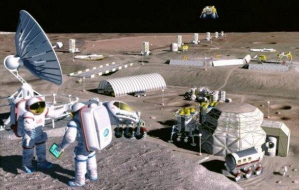 Internet arriverà anche sulla Luna grazie ai laser