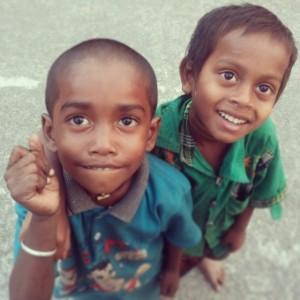 Due bimbi ritrovati, diventati fonte d'ispirazione per Helping Faceless.