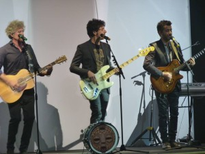 Il trio a Pescara (foto di Emiliano Di Rocco)